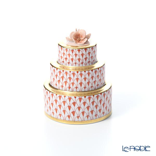 ヘレンド ファンタジー VH 05566-0-00 ウエディングケーキ オレンジ