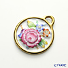 Herend 'Peony Flower (Queen Victoria)' C2 08073-0-00 Round Pendant Top