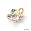Herend pendant C1 08176-0-04 Flower purple 4 x 3.5 cm