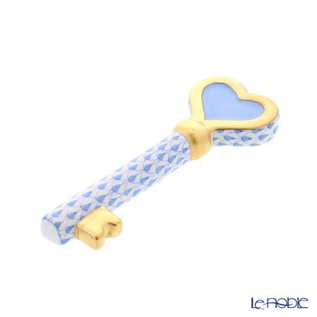 ヘレンド ファンタジー VHB 08560-0-00 ペーパーウエイト(キー) 9cm ブルー