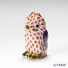 ヘレンド人形 05102-0-00VH ミニフクロウ レッド