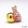 ヘレンド人形 15369-0-00VH カエルの王様 4cm