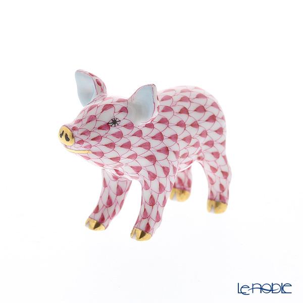 ヘレンド人形 05352-0-00 VHP ブタ ピンク