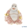Herend figurines VH 05466-0-00 Smiling Buddha Red 7.5 cm