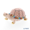 Herend figurines VH 05508-0-00 Turtle red 9.5 cm