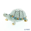 Herend figurines VHV 05508-0-00 Turtle green 9.5 cm