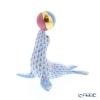 ヘレンド人形 VHBM 05543-0-00アシカ ブルー 8cm