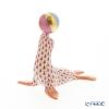 ヘレンド人形 VH 05543-0-00アシカ レッド 8cm