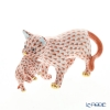 Herend figurines VH 05551-0-00 Cat carries a cat-Red 6.5 cm