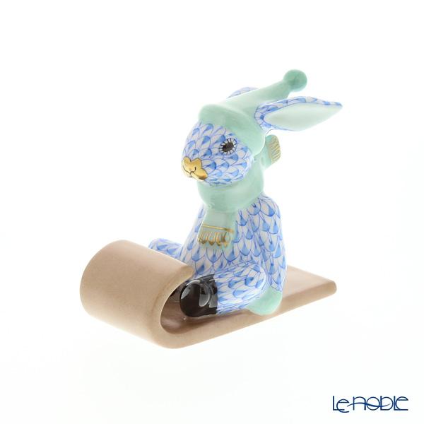 ヘレンド人形 VHB 05638-0-00 ウサギ(ソリ) 6.5cm