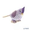 ヘレンド人形 VHLMN 05639-0-00トリ(エボシガラ)ライラック 6cm