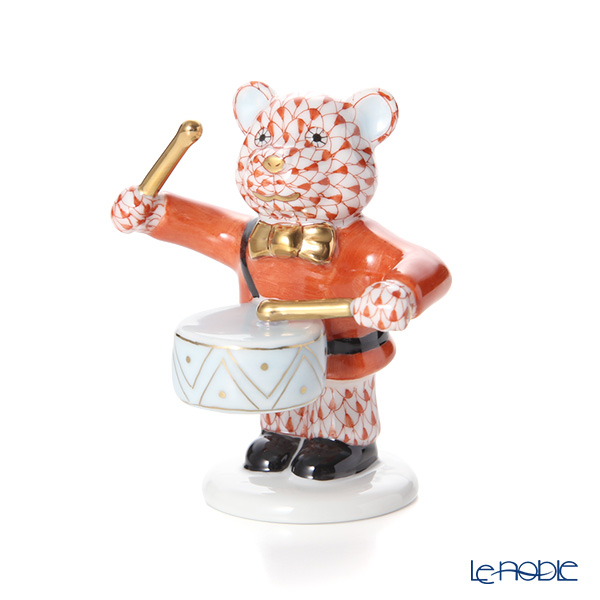 ヘレンド人形 05732-0-00 VH リトルドラマーベアー