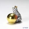 ヘレンド人形 15369-0-00VHMN カエルの王様 4cm ブラック