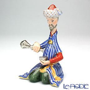 ヘレンド人形 15404-0-00ペルシアン 注ぐ人