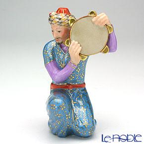 ヘレンド人形 15408-0-00ペルシアン タンバリン