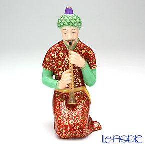 ヘレンド人形 15409-0-00ペルシアン 笛