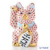 ヘレンド人形 15578-0-00VH 招き猫千両箱大レッド