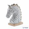 ヘレンド人形 15715-0-00VHNM ホースヘッドスモール 13cm ブラック