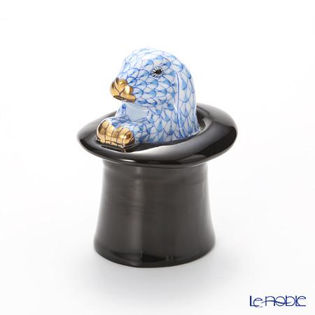 ヘレンド人形 SVHB 15723-0-00 VHB ラビットトリック ブルー