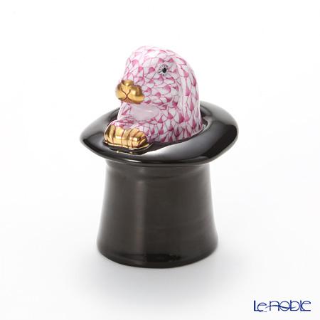 ヘレンド人形 SVHP 15723-0-00 VHP ラビットトリック ピンク