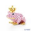 ヘレンド ファンタジー VHP 015817-0-91カエルのプリンス 6.5cm ピンク