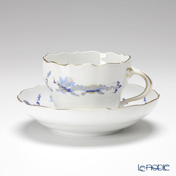 マイセン(Meissen) ドラゴン ブルー 320210/00582 コーヒーカップ&ソーサー 200cc