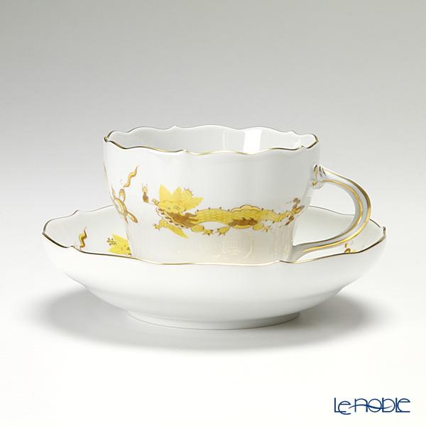 マイセン(Meissen) ドラゴン イエロー 320610/00582 コーヒーカップ&ソーサー 200cc