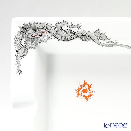 Meissen 'Ming Dragon' Black 33A173/53N76 Ashtray 15x13.5cm