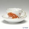 マイセン(Meissen) ドラゴン レッド 330510/00582コーヒーカップ&ソーサー 200cc