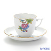 Herend Petit Victoria PV 20706-0-00 Coffee Cup & Saucer