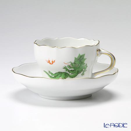 マイセン(Meissen) ドラゴン グリーン 332310/00582 コーヒーカップ&ソーサー 200cc