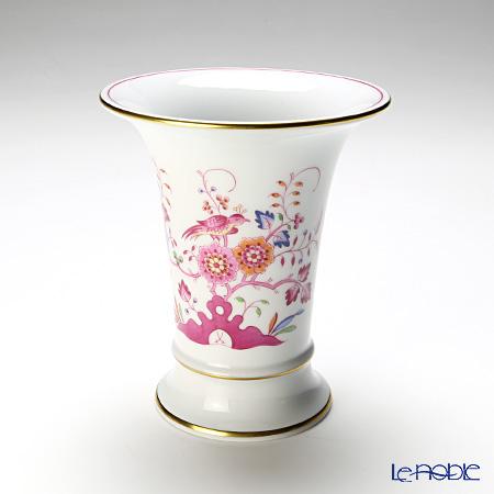 マイセン(Meissen) インドの鳥 多彩 341110/50034花瓶14cm