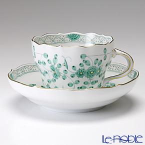マイセン(Meissen) インドの華 グリーン 343310/00582コーヒーカップ&ソーサー 200cc