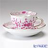 マイセン(Meissen) インドの華 ピンク 343410/00582コーヒーカップ&ソーサー 200cc
