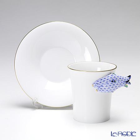 ヘレンド QH Collection QH-VHB 04913-0-00モカカップ&ソーサー 無地