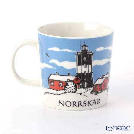 アラビア(ARABIA) 灯台マグ 300ccNorrskar ノルスク(Blue)