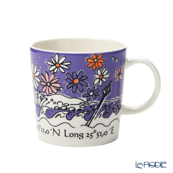 Arabia 'Glosholm -  Autumn' Purple Mug 300ml