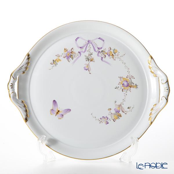 ヘレンド エデン EDEN 02315-0-00 ケーキプレート(両手付) 28.5cm