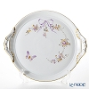 Herend Eden Purple EDEN 02315-0-00 Round Cake Plate (with handles) 28x32cm