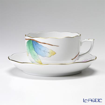 ヘレンド ピオニーライラック 20724-0-00 ティーカップ&ソーサー 200cc
