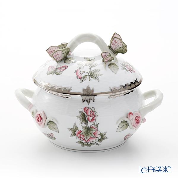 ヘレンド ヴィクトリア・プラチナ VBOG-X1-PT 00025-0-17 スープチューリン(バタフライ)