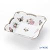 Herend Victoria-00187-0-00 VBOG-X1-PT Platinum Salad Bowl square 17.5 cm