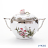 Herend Queen Victoria Platinum / Victoria avec Bord en Or VBOG-X1-PT 00472-0-09 Sugar Pot (Rose) 200ml