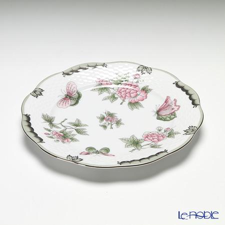 ヘレンド ヴィクトリア・プラチナ VBOG-X1-PT 00517-0-00プレート 19cm