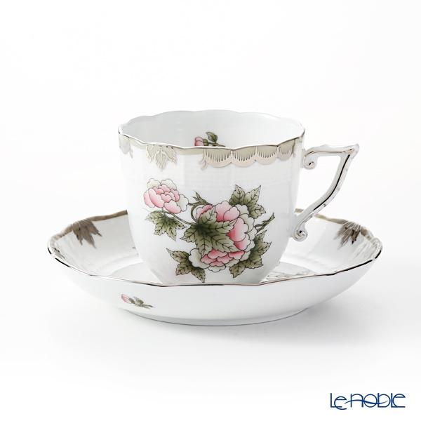 ヘレンド ヴィクトリア・プラチナ VBOG-X1-PT 00706-0-00 コーヒーカップ&ソーサー 160cc
