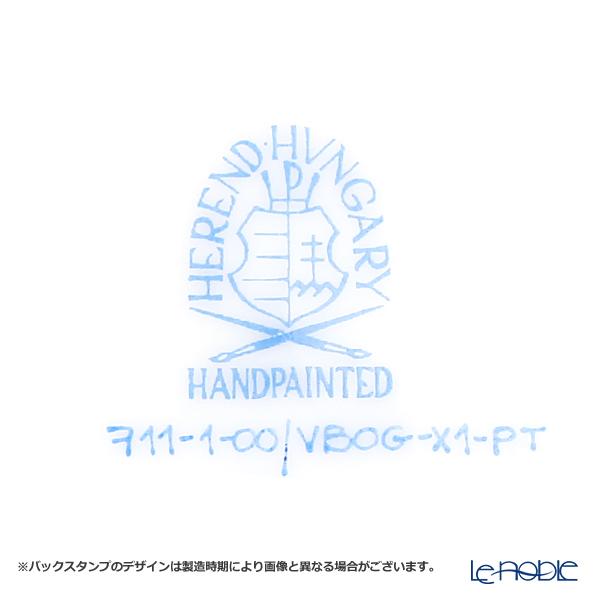 ヘレンド ヴィクトリア・プラチナ VBOG-X1-PT 00711-0-00モカカップ&ソーサー 100cc