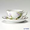 ヘレンド ロイヤルガーデン EVICTF1(フラワー) 00724-0-00ティーカップ&ソーサー 200cc グリーン