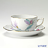 ヘレンド ロイヤルガーデン EVICTF2(フラワー) 00724-0-00ティーカップ&ソーサー 200cc ターコイズ