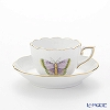Herend Royal Garden Butterfly Green / Email Victoria Papillon EVICTP1 00711-0-00 Mocha Cup & Saucer 100ml