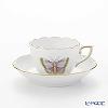 Herend Royal Garden EVICTP1 00711 - 0 - 00 (Papillon). Mocha Cup & Saucer green 100 cc